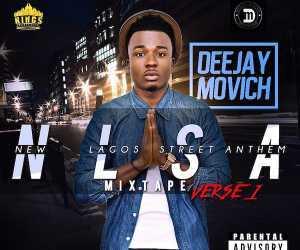 DeeJay Movich - New Lagos Street Anthem Mixtape Verse.1